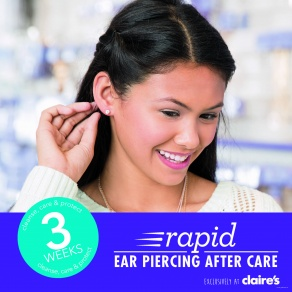 Rapid Ear Piercing Aftercare, Stevenage