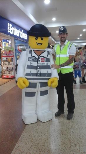 LEGO ROBBER VISIT, Stevenage