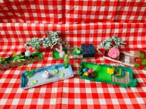 Mini Farm themed craft workshop, Stevenage