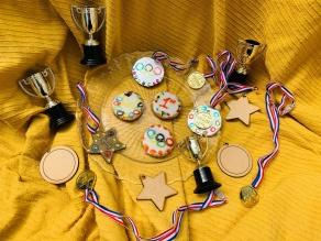 Olympic themed biscuit making workshop, Stevenage