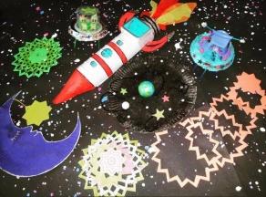 Space themed craft workshop, Stevenage