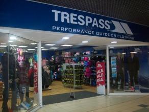 Trespass, Stevenage